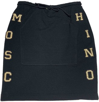 Moschino Cheap & Chic Moschino Cheap And Chic Black Wool Skirt for Women Vintage