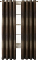 Studio StudioTM Dakota Two-Tone Lined Grommet-Top Curtain Panel