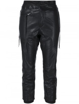 Haider Ackermann leather trousers