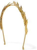 Jennifer Behr Gold-plated Headband - one size