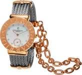 Charriol Women's 'St Tropez' Swiss Quartz Gold and Stainless Steel Dress Watch (Model: ST30CP1560023)