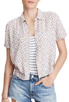 Denim & Supply Ralph Lauren Cropped Floral Shirt