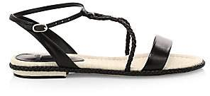 Alexandre Birman Women's Cammie Braided Leather Sandals