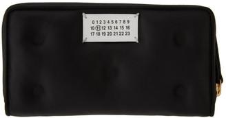 Maison Margiela Black Rectangle Glam Slam Zip Wallet