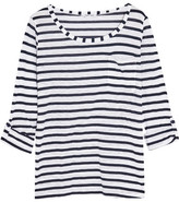 Splendid Venice Striped Slub-jersey Top - White