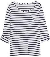 Splendid Venice Striped Slub-jersey Top - White