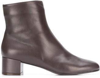 L'Autre Chose Smooth Ankle Boots