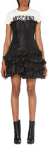 Moschino Ruffled silk dress