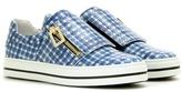Roger Vivier Mytheresa.com Exclusive Sneaky Viv Leather Sneakers