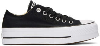 Converse Black Chuck Taylor All Star Lift Platform Sneakers