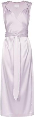 Nanushka Shanti sleeveless knotted strap dress