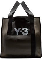 Y-3 Translucent rubberised tote