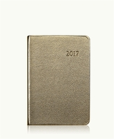 GiGi New York 2017 Daily Journal Metallics Leather