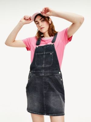 Tommy Hilfiger Heritage Recycled Denim Dungaree Dress