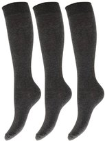 Universal Textiles Kids/Children Unisex Knee High School Socks (Pack Of 3)