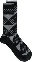 White Mountaineering patterned socks