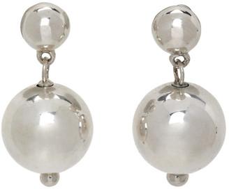 Sophie Buhai Silver Ball Drop Earrings
