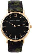 Larsson & Jennings Läder Kolmården x Voo Store watch