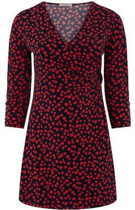 Oasis Curve Heart Twist Dress
