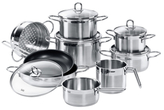 Diamant Stainless Steel Cookware Set (14 PC)
