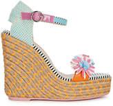 Sophia Webster Lucita Floral Espadrille Wedge Sandals