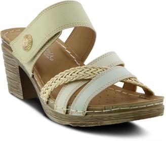 Patrizia Ziahra Women's Block Heel Slide Sandals