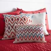 Kaleidoscope Aztec Tassel Filled Cushion