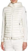 Moncler Maglia Down Zip-Front Cardigan