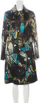 Marni Stained Glass Silk & Wool Coat w/ Tags