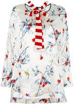 Antonio Marras floral print shift blouse - women - Polyester/Spandex/Elastane - 40