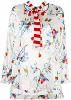 Antonio Marras floral print shift blouse - women - Polyester/Spandex/Elastane - 44