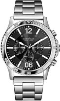 Bulova Caravelle New York by Men's Chronograph Stainless Steel Bracelet Watch 44mm 43A115
