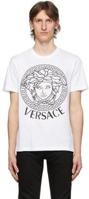 Versace SSENSE Exclusive White Medusa T-Shirt