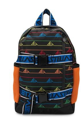 Stella Mccartney Kids Logo Print Backpack