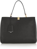 Balenciaga Le Dix Cabas Textured-leather Tote - Black