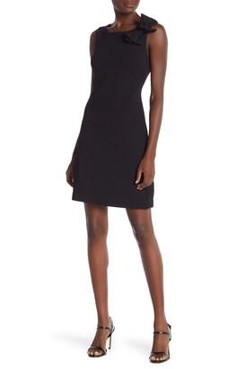Betsey Johnson Sleeveless Scuba Bow Dress