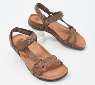 Earth Origins Leather Sandals - Orono Fern