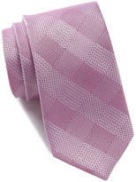 Ben Sherman Hume Check Silk Tie