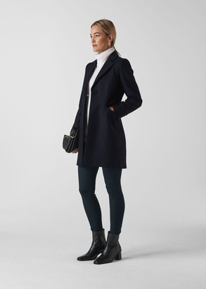 Clara Short Wool Coat