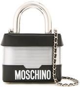 Moschino padlock shoulder bag