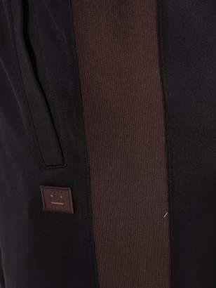 Acne Studios face logo trackpants black