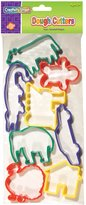 Creativity Street Dough Cutters 8/Pkg-Set 3