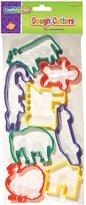 Creativity Street Dough Cutters 8/Pkg-Set 3