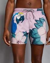 Ted Baker Parrot print swim shorts