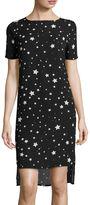 BELLE + SKY Short-Sleeve Shift Dress