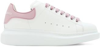 Alexander McQueen 45mm Leather & Rubber Sneakers