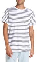 Vans Men's Lined-Up Stripe Pocket T-Shirt