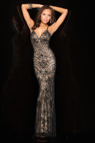 Scala 48557 Dress In Black And Nude