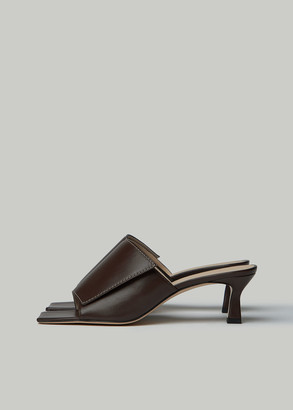 Wandler Women's Isa Slipper in Raisin Size 35