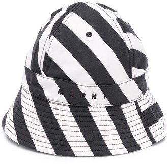 Marni Stripe Bucket Hat